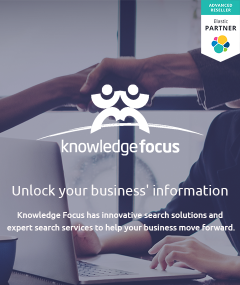 Knowledge Focus elastic advanced partner homepage banner mobile